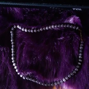 💜 bead necklace
